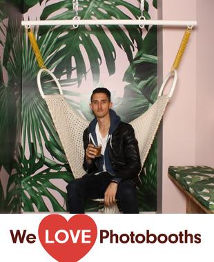 NY Photo Booth Image from VNYL in  New York, NY