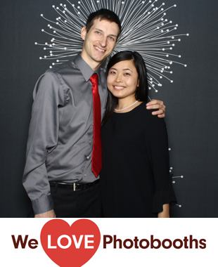 China Blue Photo Booth Image
