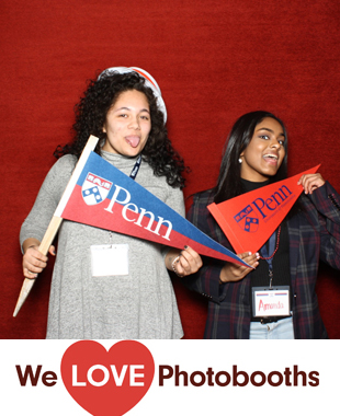 PA  Photo Booth Image from Annenberg Center in Philadelphia, PA