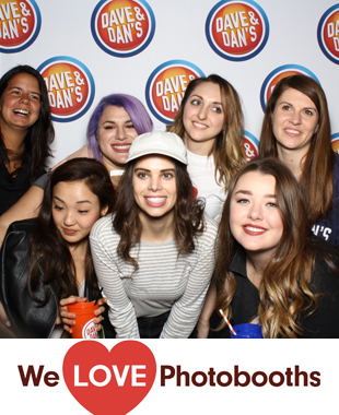 Dave and Buster's Time Square Photo Booth Image