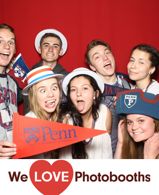 PA  Photo Booth Image from UPENN, Houston Hall in Philadelphia, PA