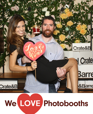 Ny Photo Booth Image from Crate and Barrel in New York, Ny