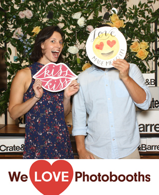 Crate and Barrel Photo Booth Image
