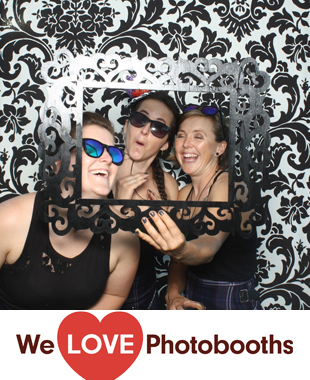 PA Photo Booth Image from Private Residence in Pipersville, PA