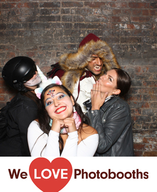 New York Photo Booth Image from The Foundry in Long Island City, New York