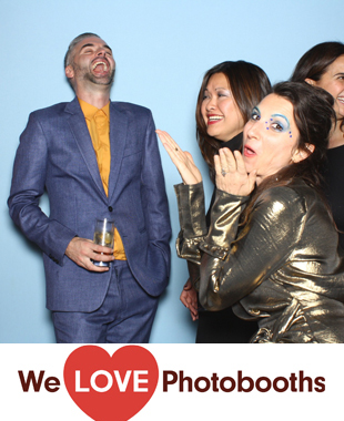 NY  Photo Booth Image from The Gantry Loft in Long Island City, NY