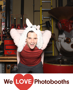 Rojo's Roastery Photo Booth Image
