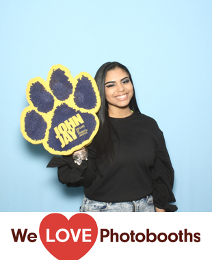 NY  Photo Booth Image from John Jay College of Criminal Justice in New York, NY