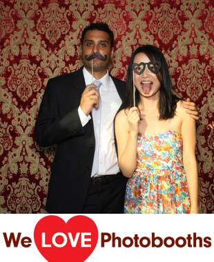 Chamard Vineyards Photo Booth Image