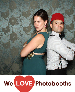 Brooklyn Botanical Gardens - The Palm House Photo Booth Image