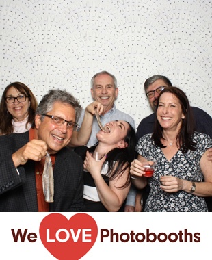 NY  Photo Booth Image from Russ and Daughters at the Jewish Museum in New York, NY