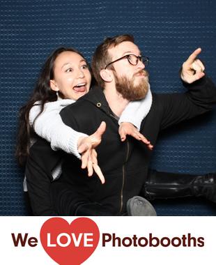 NY  Photo Booth Image from Triskelion Arts in Brooklyn, NY
