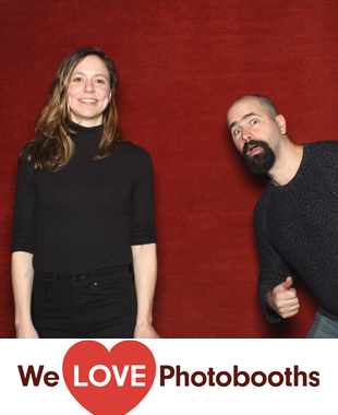 nj Photo Booth Image from Rojos Roastery in Lambertville, nj