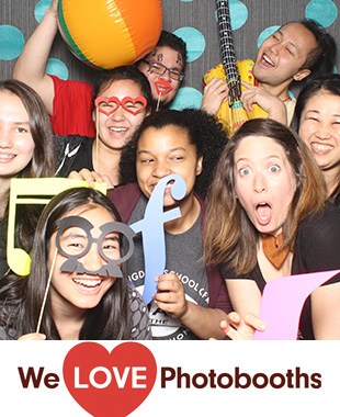Bloomingdale School Of Music Photo Booth Image