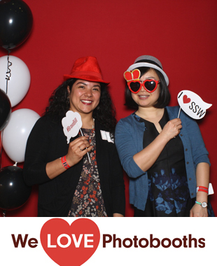 NJ  Photo Booth Image from College Avenue Student Center in New Brunswick, NJ