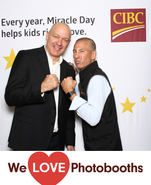 NY Photo Booth Image from CIBC in New York, NY