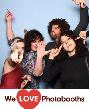 NY  Photo Booth Image from Lavender Lake in  Brooklyn, NY