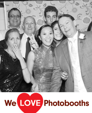 NY Photo Booth Image from Estate at The Three Village Inn in Stony Brook, NY