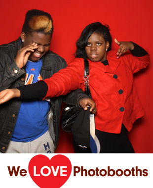 Times Center Photo Booth Image