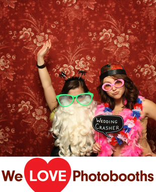 PA Photo Booth Image from Holly Hedge Estate in New Hope, PA