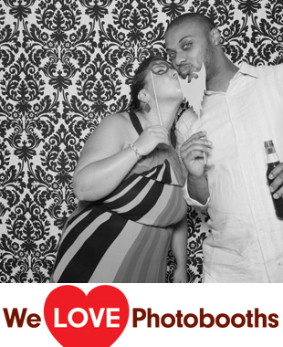 PA Photo Booth Image from JG Domestic Restaurant in Philadelphia, PA