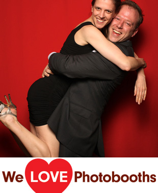 NY Photo Booth Image from Steiner Studios in Brooklyn, NY
