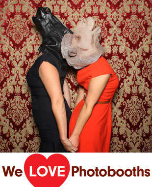 NY  Photo Booth Image from Galapagos Art Space in Brooklyn , NY