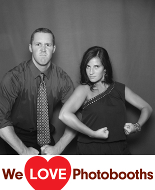 New York Photo Booth Image from John Joseph Inn in Ithaca, New York