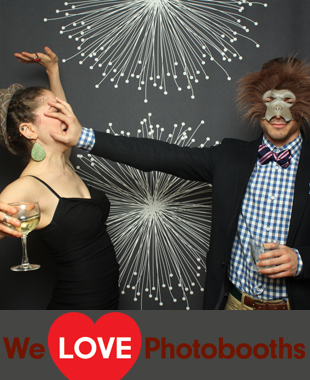 Mountain Lakes House Photo Booth Image