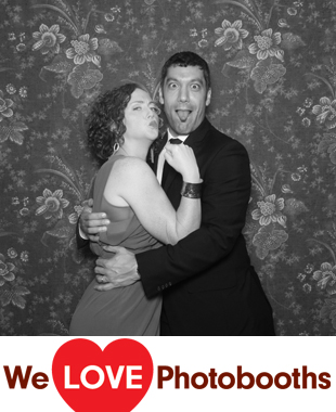 NJ Photo Booth Image from Crossed Keys Inn in Andover, NJ