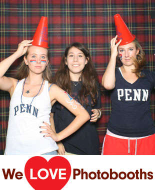 UPENN: Green Space.  Address is the Entry Point Photo Booth Image