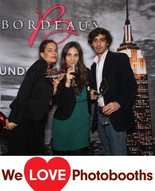 NY Photo Booth Image from Empire State Builing 61st Floor in New York, NY