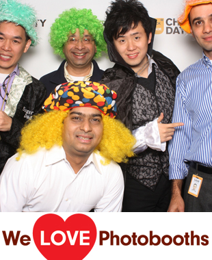 Bloomberg LP Photo Booth Image