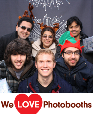 PA Photo Booth Image from Wynn Commons (outside area of Houston Hall) in Philadelphia, PA