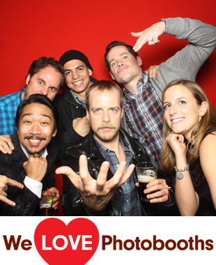 Company Bar Photo Booth Image