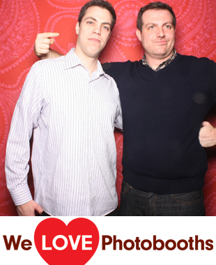 NY Photo Booth Image from Webster Hall in New York, NY