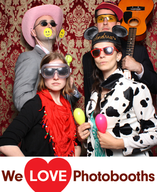 Inn at Fernbrook Farms Photo Booth Image