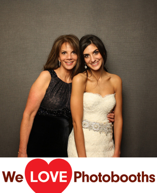 NJ  Photo Booth Image from The Wilshire Grand Hotel in West Orange, NJ