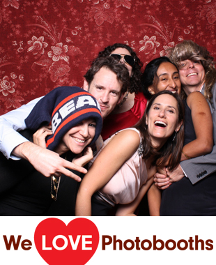 New York Photo Booth Image from  The Metropolitan Building in Long Island City, New York