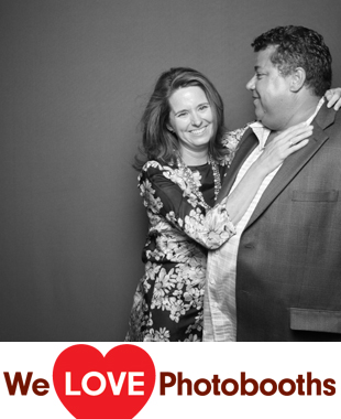 Couple's House Photo Booth Image