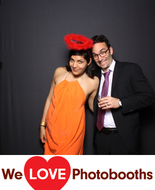 NY Photo Booth Image from The Four Seasons Restaurant in New York, NY