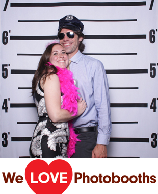 PA Photo Booth Image from James Michener Art Museum in Doylestown, PA