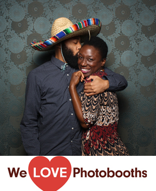 New York  Photo Booth Image from Palm House at Brooklyn Botanical Gardens in Brooklyn, New York