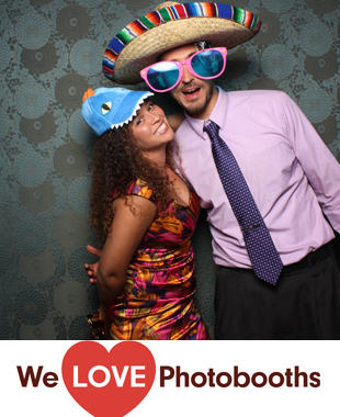 Palm House at Brooklyn Botanical Gardens Photo Booth Image