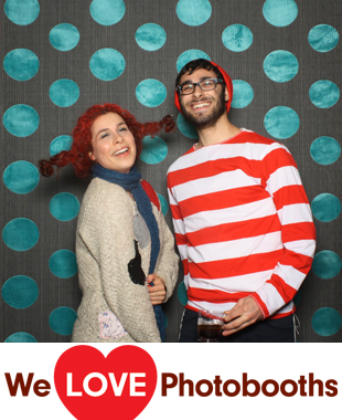 NY  Photo Booth Image from CAY Purim Party in Brooklyn, NY