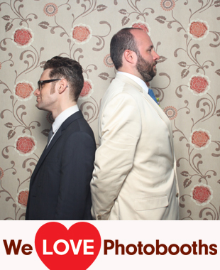 PA  Photo Booth Image from Pearl S. Buck Estate in Perkasie, PA