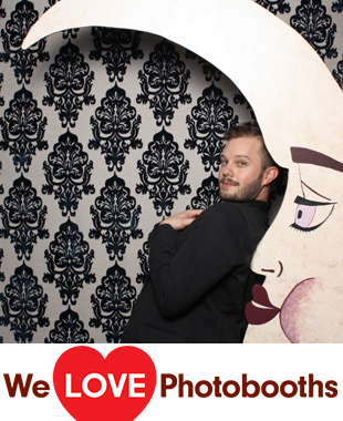 NY Photo Booth Image from  W. Loft in Brooklyn, NY