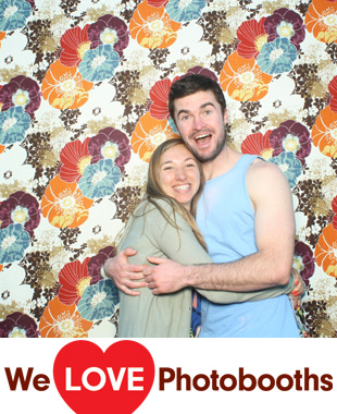 PA  Photo Booth Image from The University of Pennsylvania Quadrangle in Philadelphia, PA