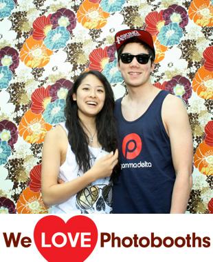 The University of Pennsylvania Quadrangle Photo Booth Image