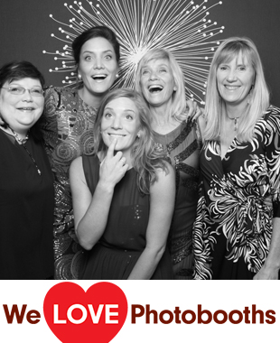 CT Photo Booth Image from Wee Burn Beach Club in Rowayton, CT